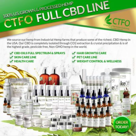 How To Become A CBD Oil Distributor - CTFO CBD Products Brochure