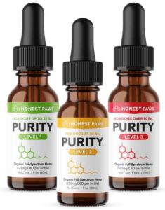 Honest Paws Dog Treats - Purity CBD Oils Image