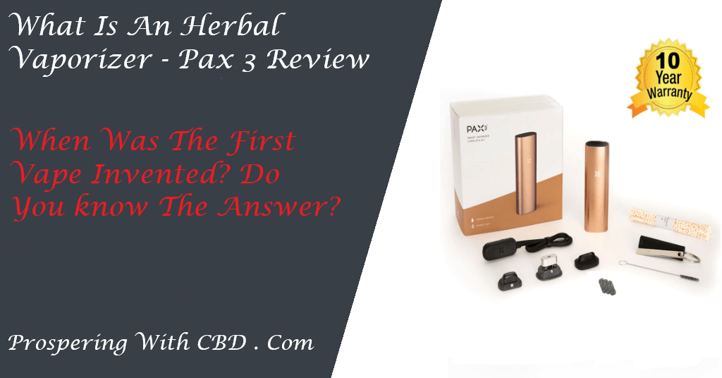 What Is An Herbal Vaporizer - Pax 3 Social Image