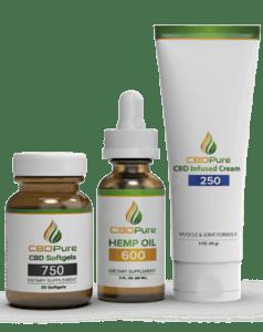 CBDPure Hemp Oil 1000mg. - CBDPure Review - Product Image
