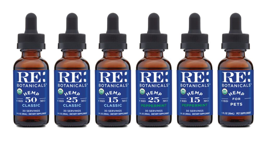 RE Botanicals CBD Oil