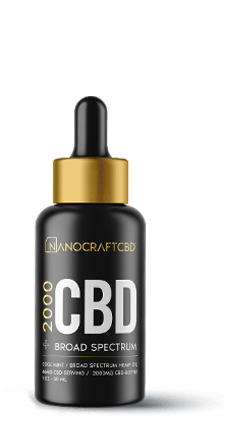 Nanocraft 2000mg CBD Oil