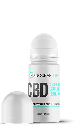 Nanocraft Cooling CBD Roll On Gel