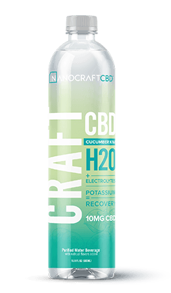 Nanocraft Cucumber Kiwi CBD Energy Water