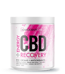 Nanocraft CBD Post Workout Recovery Powder