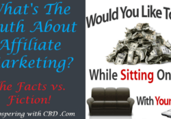 What's The Truth About Affiliate Marketing - Facts vs. Fiction - Featured Image