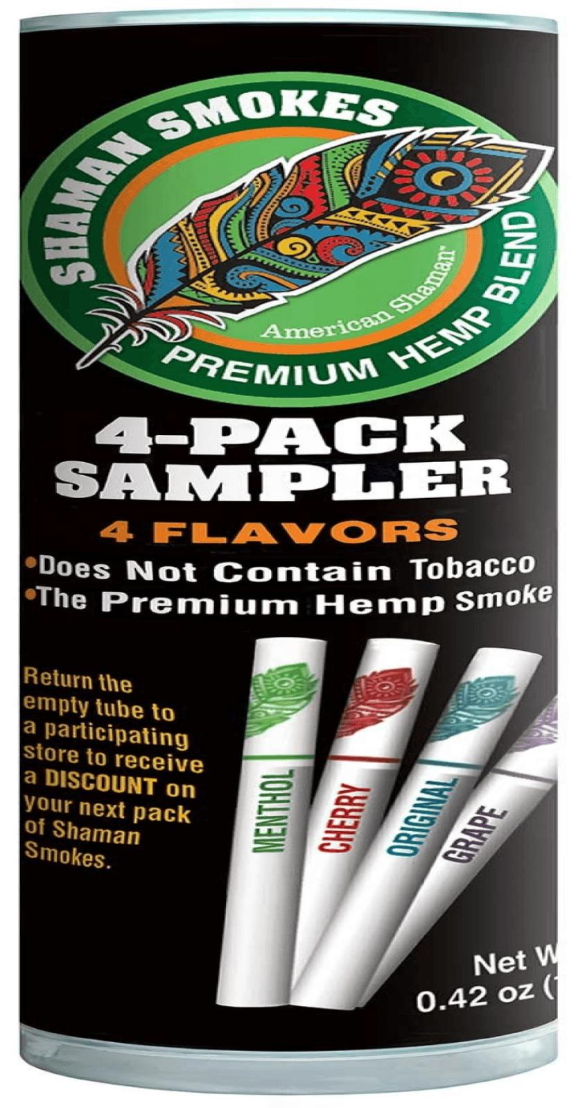 American Shaman CBD Cigarettes Sampler Pack